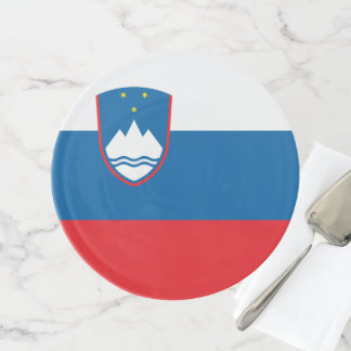 Soporte Para Tartas Bandera de Eslovenia