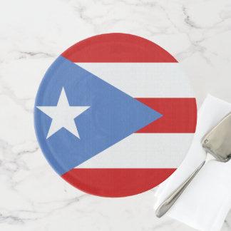 Soporte Para Tartas Bandera de Puerto Rico
