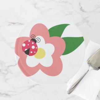 Soporte Para Tartas Destinos dulces del destino de la mariquita de la