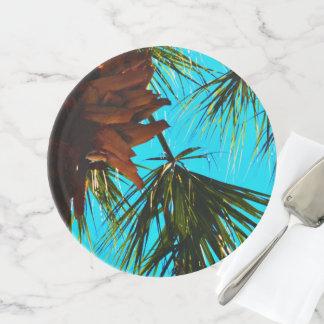 Soporte Para Tartas Destinos dulces del destino de la palmera de la
