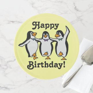 Soporte Para Tartas ¡Diversión y cumpleaños de los pingüinos