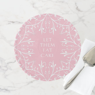 Soporte Para Tartas El diseño floral del texto de encargo los dejó