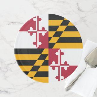 Soporte Para Tartas Gráfico dinámico de la bandera del estado de