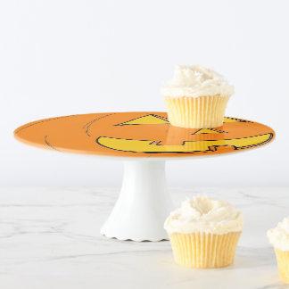 Soporte Para Tartas Placa de la torta de la linterna del o de Jack