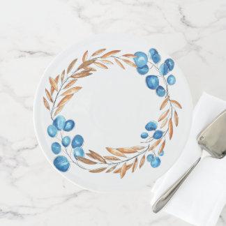Soporte Para Tartas Trigo y arándanos