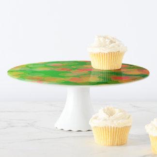 Soporte >Pattern de la torta de los colores