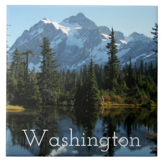 Soporte Shuksan, foto de Washington Azulejo De Cerámica