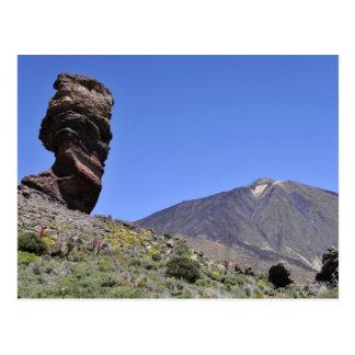 Soporte Teide en las islas Canarias Postal