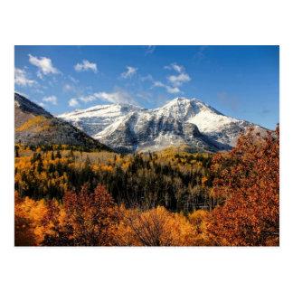 Soporte Timpanogos en las montañas de Utah del Postal
