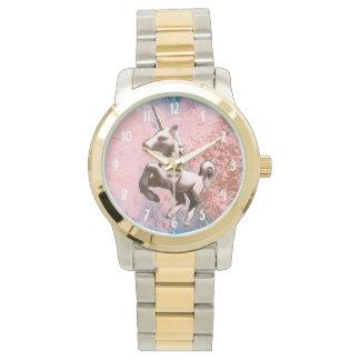 Sorbete descolorado el | del reloj del unicornio
