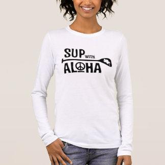 SORBO de Wahine con la camiseta de la hawaiana