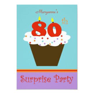 Sorprenda la 80.a invitación de la fiesta de