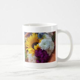 Sorpresa del girasol taza de café