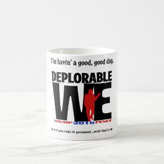 ¡Sorpresa deplorable! Taza Mágica