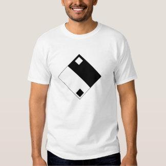 Sostenido de Yin Yang Camisetas