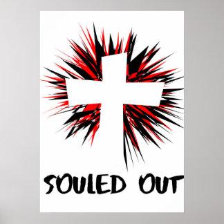 """""""Souled hacia fuera"""" empareda el poster Póster"""