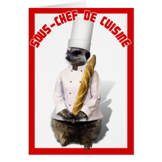 SOUS - CHEF DE CUISINE FELICITACION