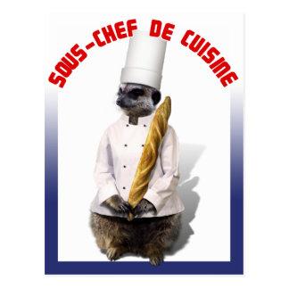 SOUS - CHEF DE CUISINE POSTAL