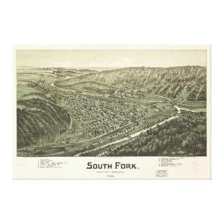South Fork, el condado de Cambria, Pennsylvania Lienzo