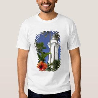 South Pacific, Polinesia francesa, Tahití. Hibisco Camisetas