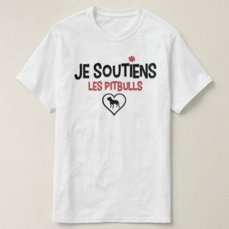 Soutiens Pitbull Quebec aux. Camiseta