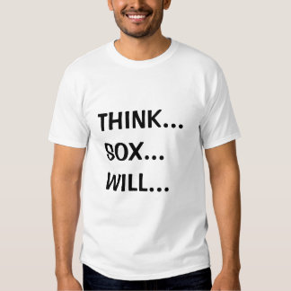 SOX-Mente roja sobre materia Camiseta