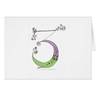Soy 3 años de viejo de diseño tony de los tarjeta de felicitación