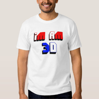 Soy 3D Camisas