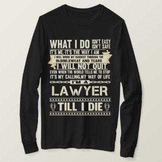 Camiseta Soy ABOGADO. Camiseta del regalo