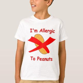 Soy alérgico a la camiseta de los cacahuetes