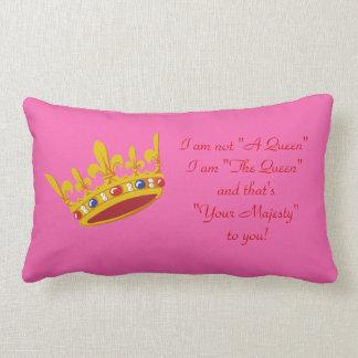 """Soy almohada """"de la reina"""" - rosa"""
