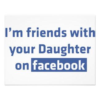 Soy amigos con su hija en facebook comunicados personalizados