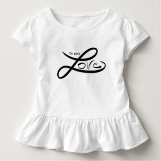 Soy amor puro camiseta de bebé