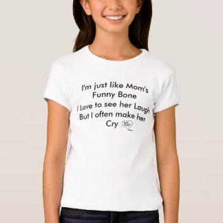 Soy apenas como BoneI divertido Lo de la mamá… Camiseta