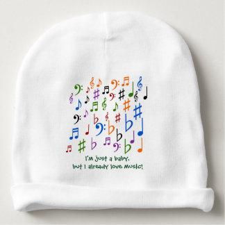 ¡Soy apenas un bebé, pero amo ya música! Gorrito Para Bebe