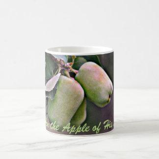 """Soy Apple taza de café de su ojo"""