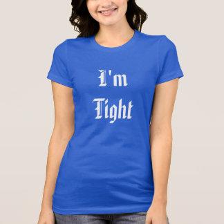 Soy apretado, el ladrillo #1 apretado camiseta
