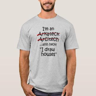 Soy arquitecto camiseta