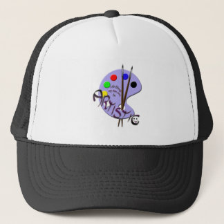 Soy artístico gorra de camionero