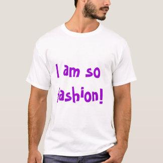 Soy así que moda camiseta