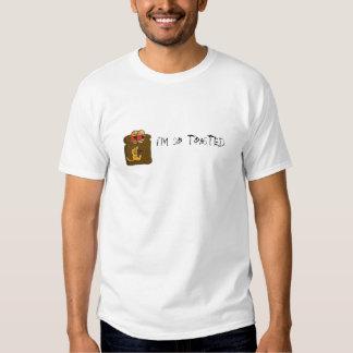 Soy así que tostado camiseta