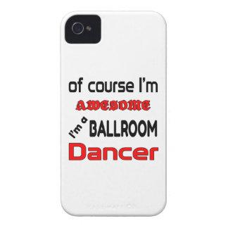 Soy bailarín del salón de baile Case-Mate iPhone 4 carcasa