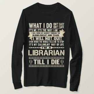 Camiseta Soy BIBLIOTECARIO. Camiseta del regalo