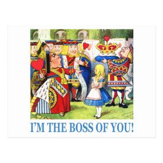 ¡Soy Boss de usted! Tarjetas Postales