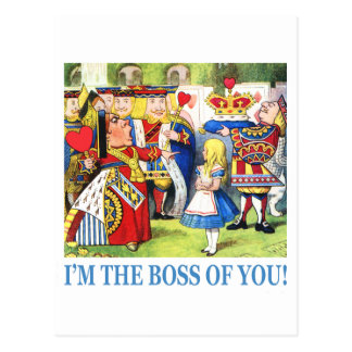 ¡Soy Boss de usted! Postal