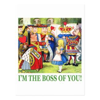 ¡Soy Boss de usted! Tarjeta Postal
