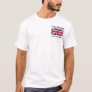 Soy británico y es mi cumpleaños camiseta