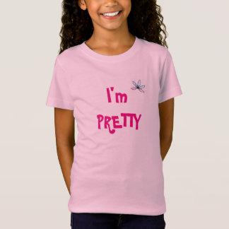 Soy camiseta bonita de los chicas