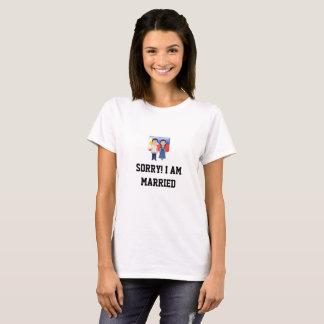 Soy camiseta casada