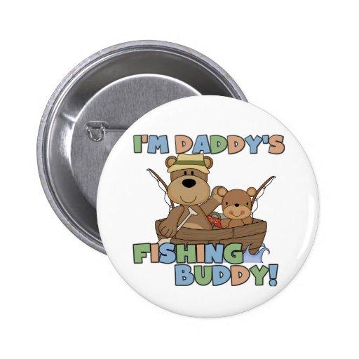 Soy camisetas y regalos del compinche de la pesca  pins